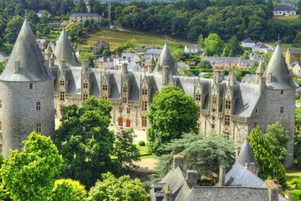 Замок Жослен Бретань