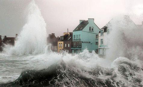 Буря остров Сен