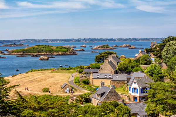 Остров Бреа Бретань фото