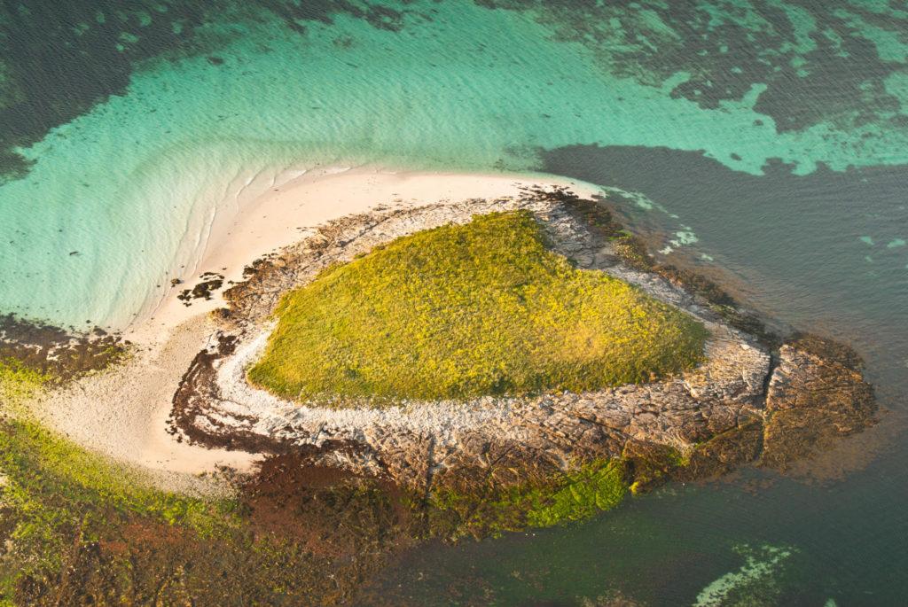 Вид сверху на архипелаг Гленан