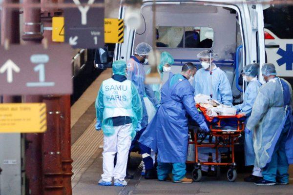Эпидемия коронавируса во Франции