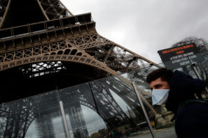 Где во Франции коронавирус