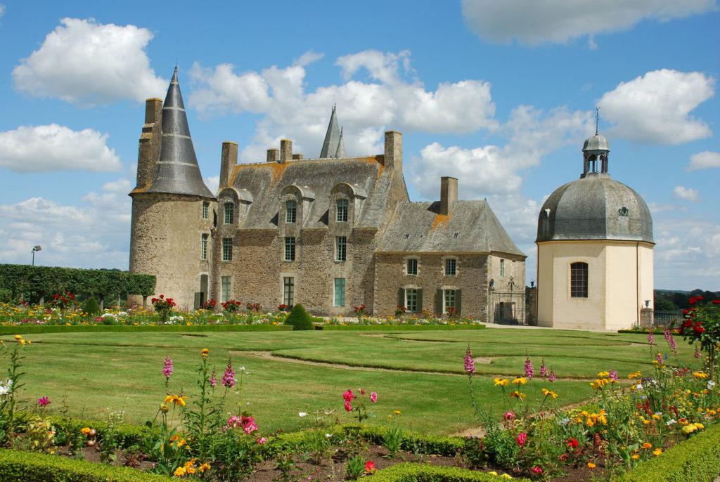 Замок Роше Севинье в Бретани