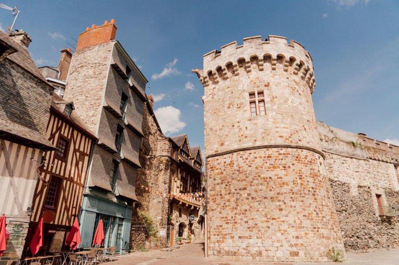 Замок Витре Бретань