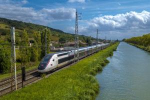 Скоростной поезд во Франции