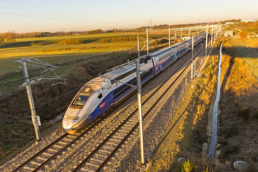 Скоростные поезда в Бретани