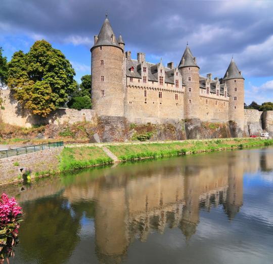 Замок Жослен в Бретани